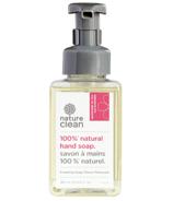 Nature Clean 100% Natural Foaming Hand Soap Geranium