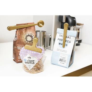 Kikkerland Brass Clip Set