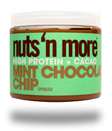 Nuts n More High Protein Peanut Butter Mint Chocolate Chip