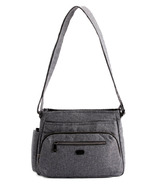 Lug Shimmy 2 Crossbody Bag Heather Grey