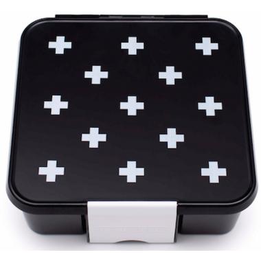 Little Lunch Box Co. Bento 3 Black Monochrome