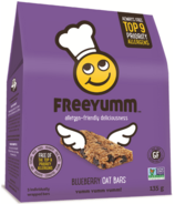 FreeYumm Blueberry Oat Bars