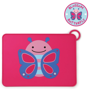 Skip Hop ZOO Fold & Go Placemat Butterfly