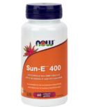 NOW Foods SUN-E 400 IU Vitamin E Softgels