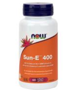 NOW Foods SUN-E 400 IU Vitamine E Softgels (gélules)