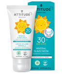 ATTITUDE Mineral Face Sunscreen Fragrance Free SPF30