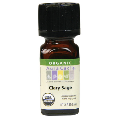 Aura Cacia Clary Sage Organic Essential Oil
