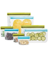 (re)zip Deluxe Reusable Snack Bags Kit