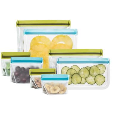 (re)zip Deluxe Reusable Snack Bags Kit