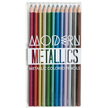 OOLY Modern Metallics Colored Pencils
