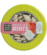 Sencha Naturals Green Tea Mints Tin Pink Dragonfruit