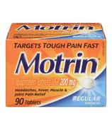 Comprimés Motrin Regular Strength