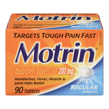 Motrin Tablets Regular Strength