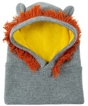 ZOOCCHINI Baby Knit Balaclava Hat Leo the Lion