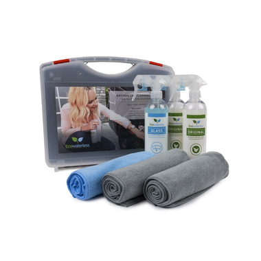 Ecowaterless Natural Car Cleaning Kit