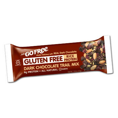 NuGo Gluten Free Dark Chocolate Trail Mix Bars Case of 12