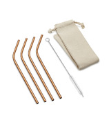 Outset Bent Copper Straws