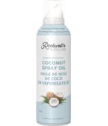 Spray de cuisson à l'huile de noix de coco Rockwell's Whole Foods