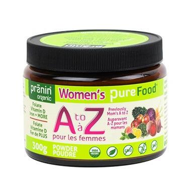 Pranin Organic Women\'s PureFood A to Z