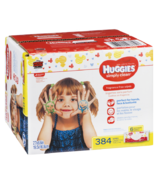 Huggies Simply Clean Fragrance-Free Baby Wipes 6 Pack