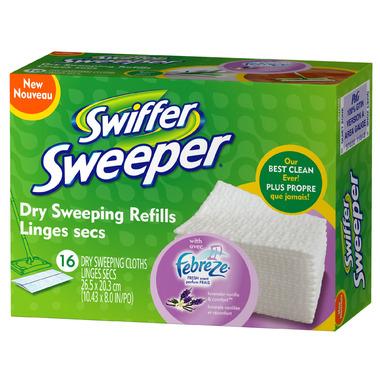 Swiffer Sweeper Dry Sweeping Cloth Refills - Lavender Vanilla