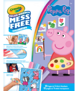 Crayola Peppa Pig Color Wonder Pages and Mini Markers