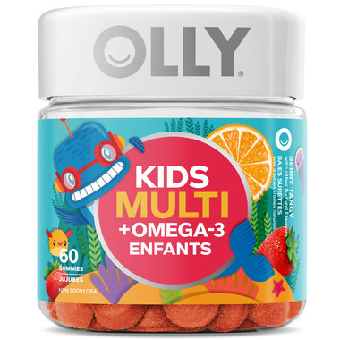 OLLY Kids\' Multi + Omega-3 Berry Tangy