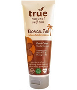 True Natural Self Tan Lotion Tropical Tan Dark