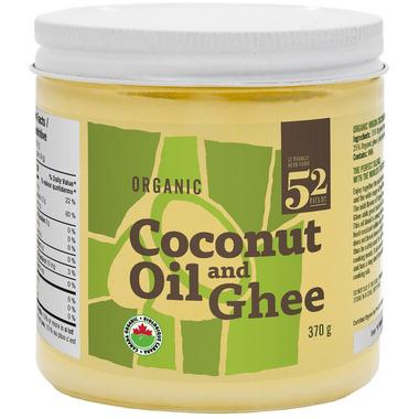 St. Francis Herb Farm 52 Fields Organic Coconut Oil & Ghee