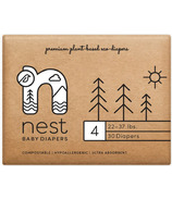 nest Natural Plant Based Baby Diaper Size 4