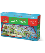 Crocodile Creek Discover Canada 100-Piece Puzzle