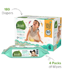 Seventh Generation Diaper & Wipes Bundle Size 6
