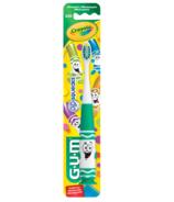 GUM Crayola Kids Pip-Squeaks Toothbrush