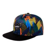 Headster Kids Snapback Hat Fine Foliage Navy