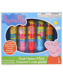 Incredible Novelties Peppa Pig Chalk & Chalk Holders
