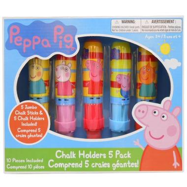 Incredible Novelties Peppa Pig Chalk & Chalk Holders