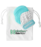 Malarkey Kids Munch Mitt Teething Mitten Aqua Blue