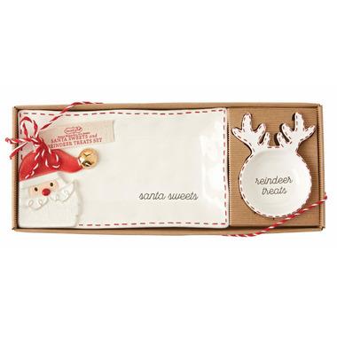 Mud Pie Santa Sweets & Reindeer Treats
