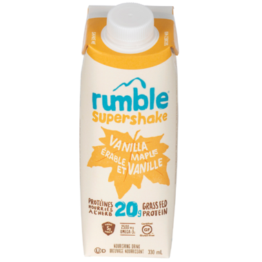 Rumble Vanilla Maple Supershake