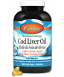 Carlson Norwegian Cod Liver Oil Lightly Lemon Large