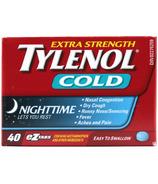 Tylenol Cold Extra Strength Nighttime eZ Tabs