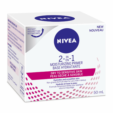 Nivea 2-in-1 Moisturizing Primer for Dry to Sensitive Skin