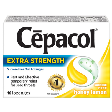 Cepacol Extra Strength Sucrose Free Lozenges