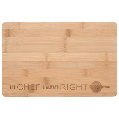 Now Designs Cutting Board Engraved Chef