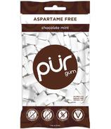 PUR Sugar-Free Gum Chocolate Mint Bag