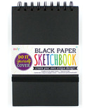 OOLY D.I.Y. Cover Sketchbook Black