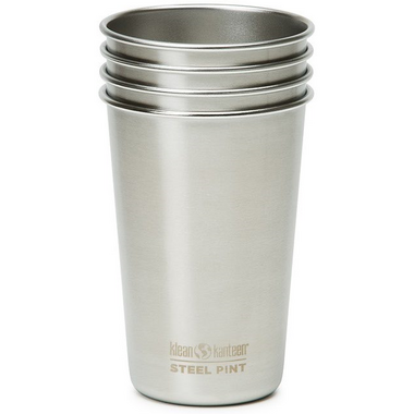 Klean Kanteen Steel Pint Set of 4