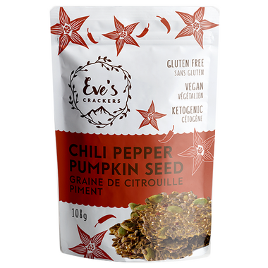 Eve\'s Crackers Chili Pepper Pumpkin Seed