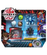 Bakugan Aquos Nobilious Darkus Krakelios Battle Pack