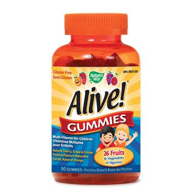 Nature\'s Way Alive! Children\'s Multivitamin Gummies
